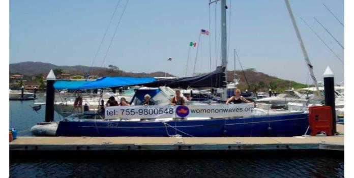 Llega a México el Barco del aborto