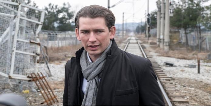 Canciller de Austria apoya construcción de muro entre EU y México