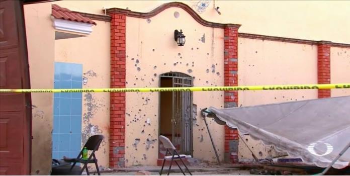 Revelan imágenes de la casa donde fue abatido el H2 en Nayarit