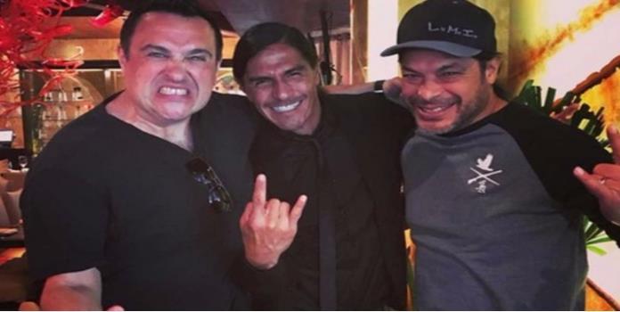Celebra a lo grande; 'Paco' Palencia se va de fiesta con Metallica
