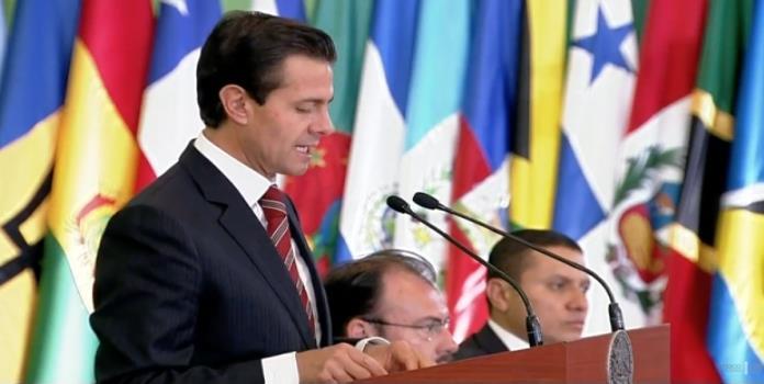 Agradece EPN apoyo de Latinoamérica ante coyuntura internacional