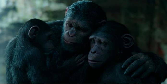Hay nuevo adelanto de El planeta de los simios: la guerra