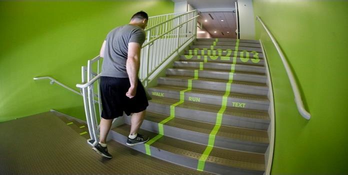 30 minutos semanales de subir escaleras, tan buenos como ir al gimnasio: estudio