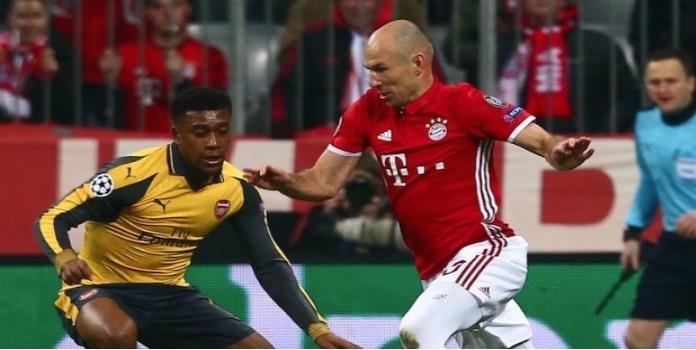 VIDEO: Arsenal lucha de tú a tú ante el Bayern