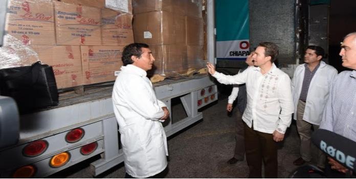 Se garantiza el abasto de medicamentos en hospitales de Chiapas