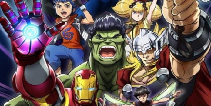 Habrá un nuevo anime de Los Vengadores