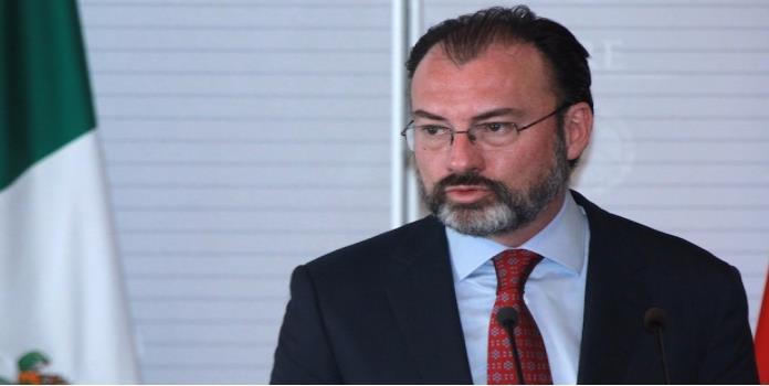 Videgaray comparecerá el 28 de febrero ante el pleno del Senado