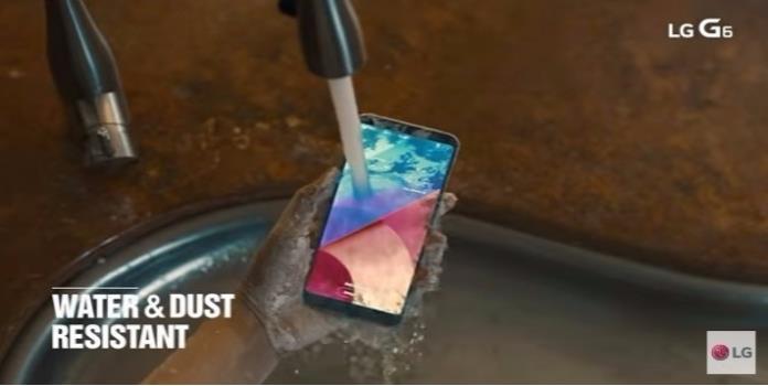El LG G6: Una hermosa y amplia pantalla, que puedes sumergir en el agua hasta por 30 minutos