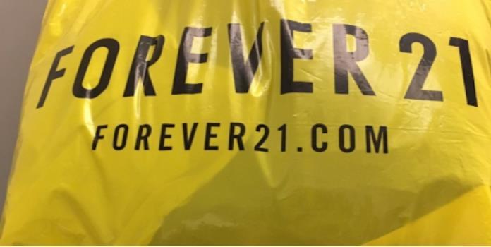 El mensaje oculto en las bolsas de Forever 21