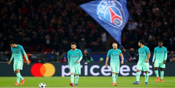 El Barcelona es humillado en París; tiene pie y medio fuera de la Champions League