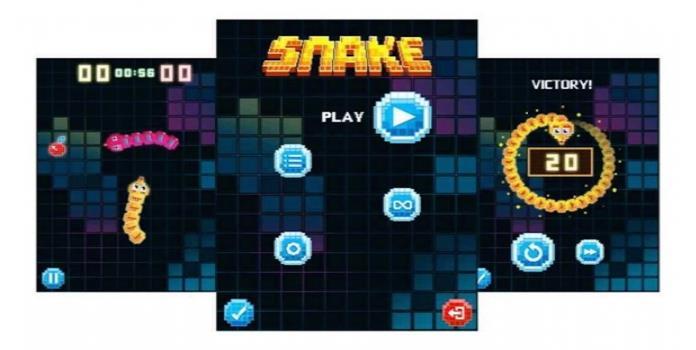 Así luce la nueva versión de Snake que llegará con el Nokia 3310
