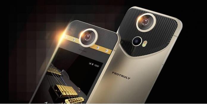 Este horrible smartphone integra una cámara de 360 grados