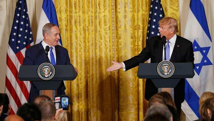 Trump se ablanda con Israel y ofrece concesiones a Netanyahu