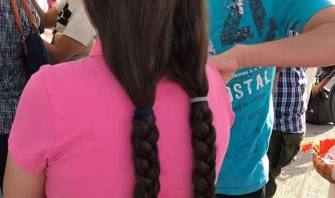 Atleta entrega 40 cm de cabello para lucha contra el cáncer infantil