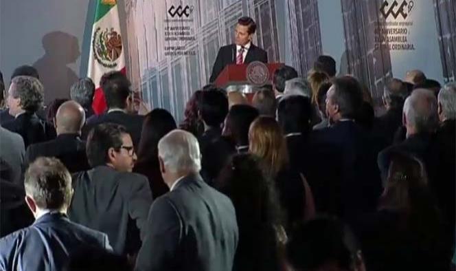 Defenderemos con firmeza intereses del sector productivo mexicano: Peña