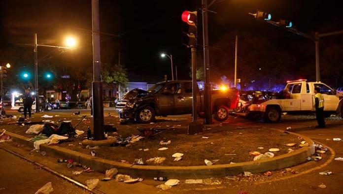 Suman 21 personas hospitalizadas por atropellamiento en Nueva Orleans