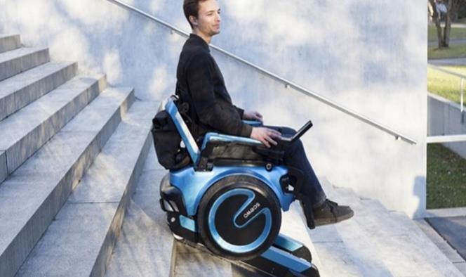 La futurista silla de ruedas capaz de subir escaleras sin ayuda