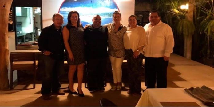 Calderón y Zavala se reúnen con gobernador de BCS