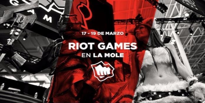 Riot Games y League of Legends estarán en La Mole