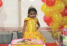 Dulce Ivette festeja su cumple como princesa