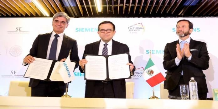 Siemens firma acuerdo con SE para inversión de 200 mdd