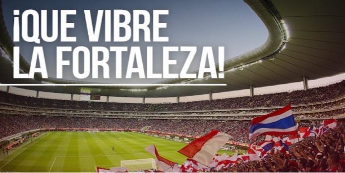 El Estadio Chivas estará repleto de afición rojiblanca