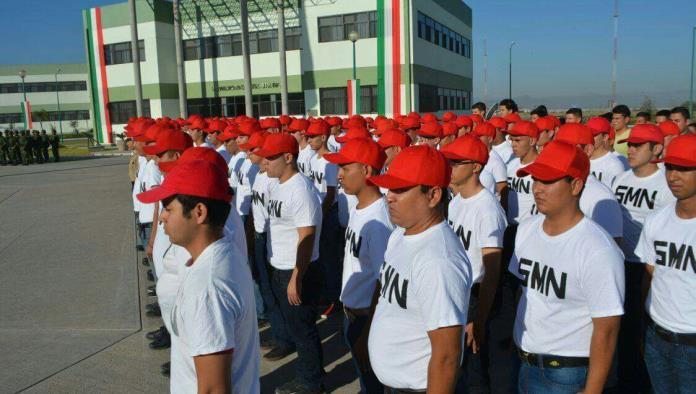 Se integran jóvenes al servicio militar