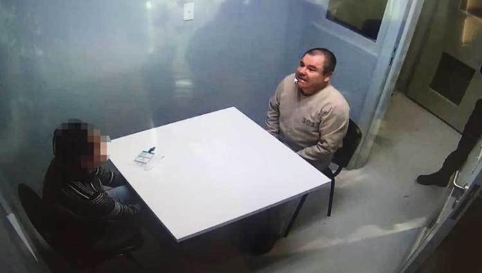 Pide AI acceso a área de reclusión de 'El Chapo'