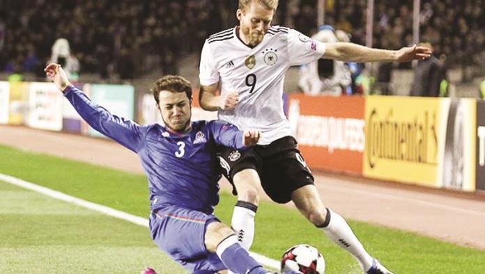 Alemania continúa con paso arrasador