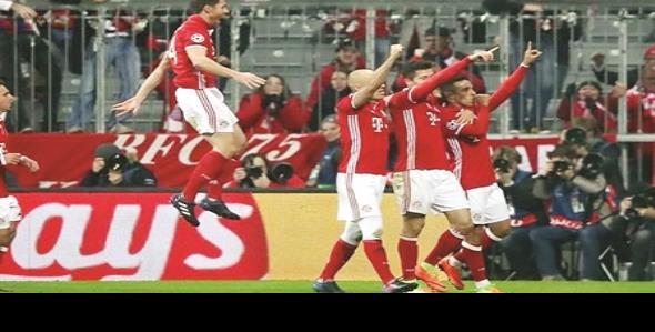 Aplasta Bayern al Arsenal