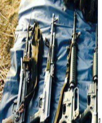 Confiscan armamento ligado a 'Tequileros'