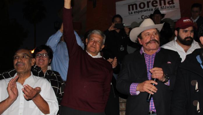 Apoyan en Nueva Rosita a Obrador