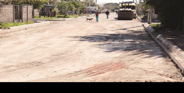 Millonaria inversión en la pavimentación