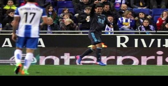 Anota Vela en triunfo ante el Espanyol