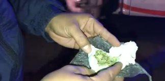 Les incautan droga a jovenes