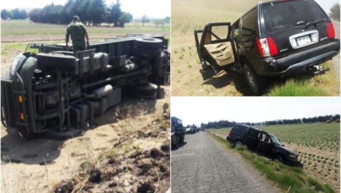 Atacan convoy del Ejército en zona de 'huachicoleros'