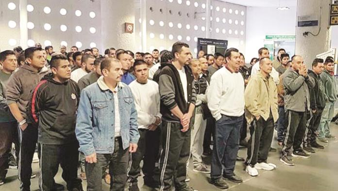 Arrestan a 90 mexicanos indocumentados en EU