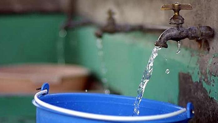 Suspenderán servicio de agua en  3 colonias