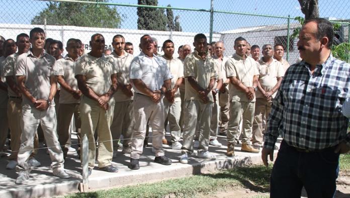 Prisiones del Estado, en paz y tranquilidad