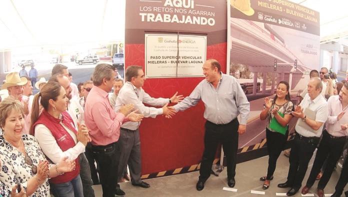 Operan ya nuevos puentes en Coahuila