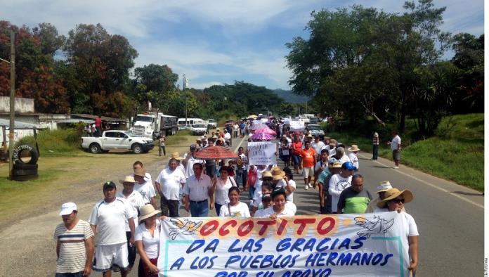 Marchan por la paz en Guerrero