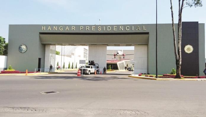 Hallan pagos indebidos en hangar presidencial