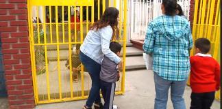 Lloran niños por regreso a clases