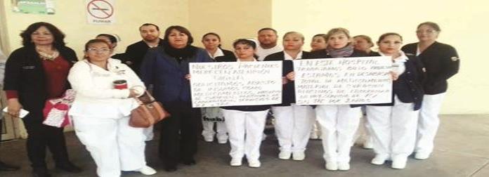Protestan por faltade medicamentos