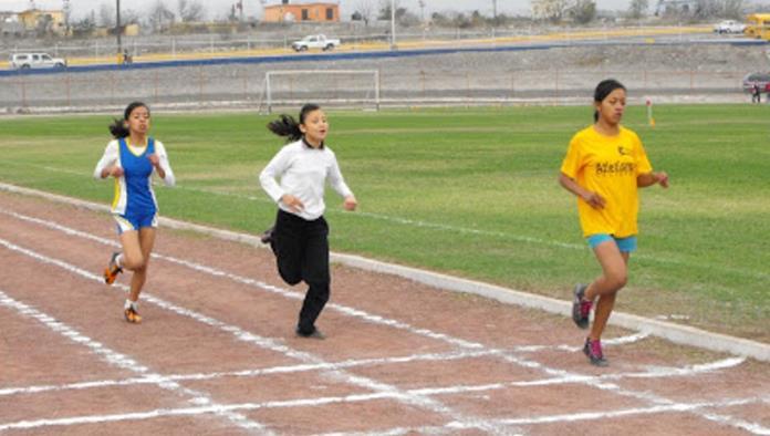 Realizan la etapa regional de atletismo