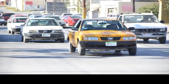 Sacan de circulación taxis en mal estado