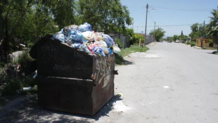 Fallas en camiones afectan la recolección de basura
