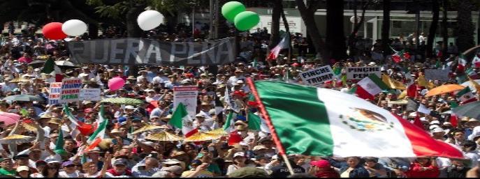 Emerge rechazo a Peña Nieto