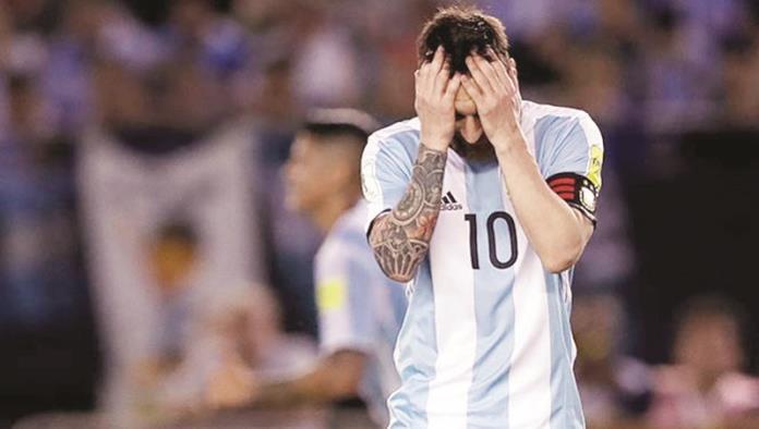Messi está 'golpeado y triste'
