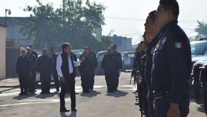Repartirán 2mdp a  policías de Frontera